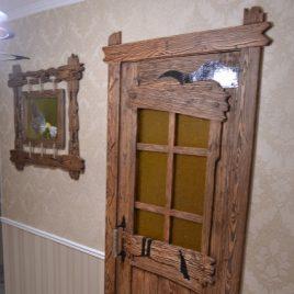 Дверь под старину «Агафия»