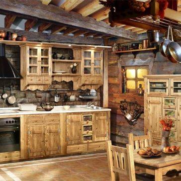 Кухня под старину #23