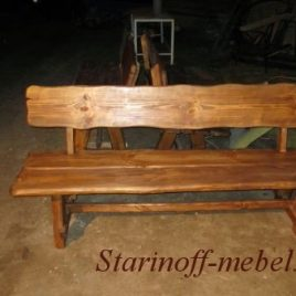 Скамейка под старину «СК-7»