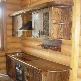 Кухня под старину #38