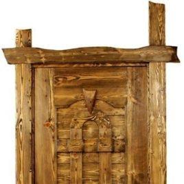 Дверь под старину «Людмила»