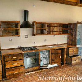 Кухня под старину #9