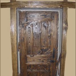 Дверь под старину «Жасмин»