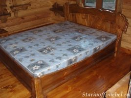 Кровать под старину №3