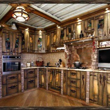Кухня под старину #20