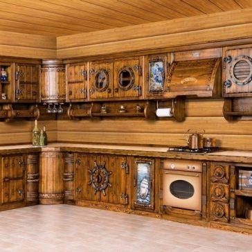 Кухня под старину #42