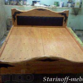 Кровать под старину №6
