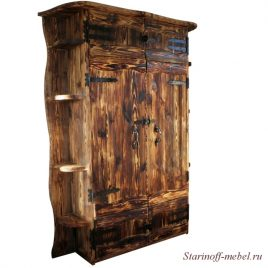 Шкаф под старину «Монарх»