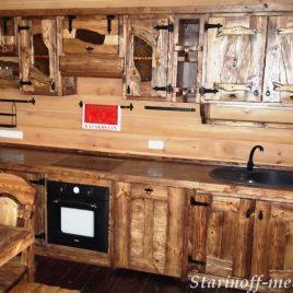 Кухня под старину #21
