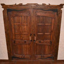 Дверь под старину «Астра»