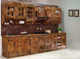 Кухня под старину #27