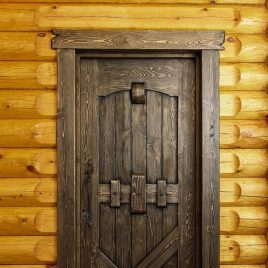 Дверь под старину «Бояра»