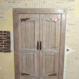 Дверь под старину «Цветана»