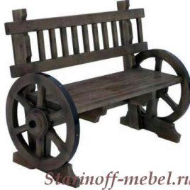 Скамейка под старину «СК-13»