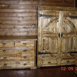 Шкаф под старину «Эдмунд»