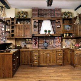 Кухня под старину #34