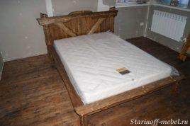 Кровать под старину №23