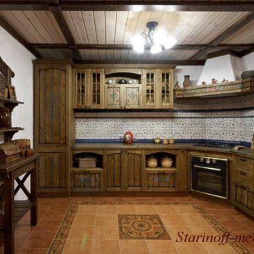 Кухня под старину #47