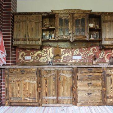 Кухня под старину #74