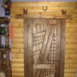 Дверь под старину «Ольга»