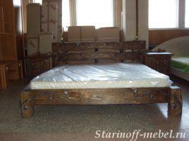 Кровать под старину №15