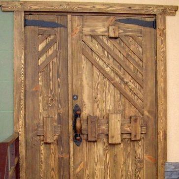 Дверь под старину «Домна»