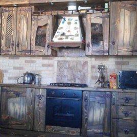Кухня под старину #33