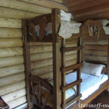 Кровать под старину №9