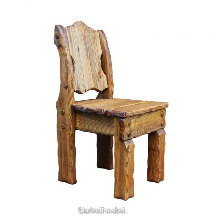 стул из дерева под старину картинки том, как
