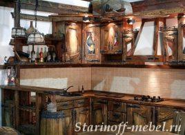 Кухня под старину #26