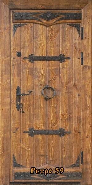 двери под старину фото ретро огненное барабанное