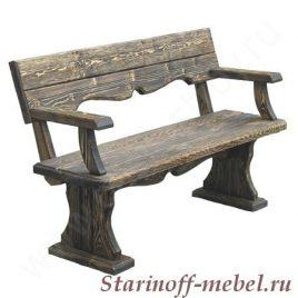 Скамейка под старину «СК-5»