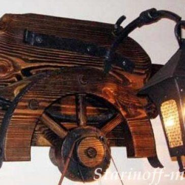Светильник под старину №30