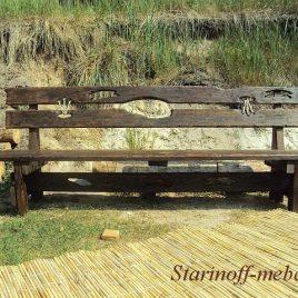 Скамейка под старину «СК-10»