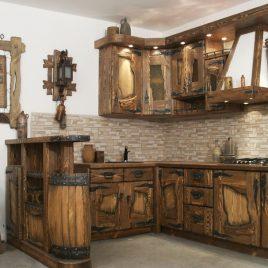 Браширование мебели под старину