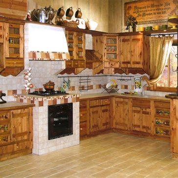 Кухня под старину #31