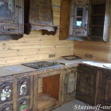 Кухня под старину #16