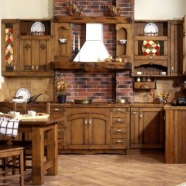 Кухня под старину #24