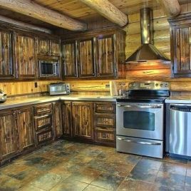 Кухня под старину #19