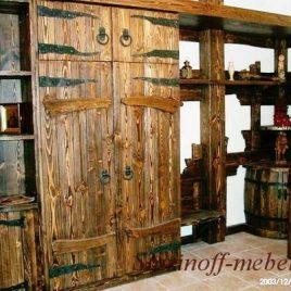Шкаф под старину «Мирон»