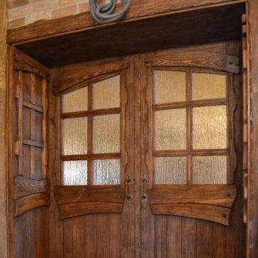 Дверь под старину «Фая»