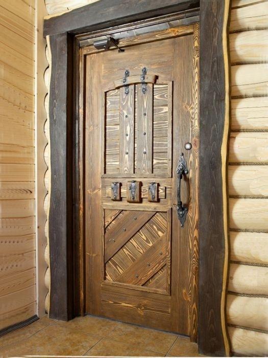 Двери под старину, как причастность к извечности