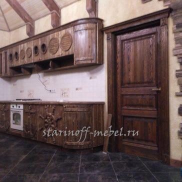 Кухня под старину #6
