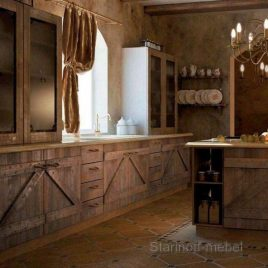 Кухня под старину #13