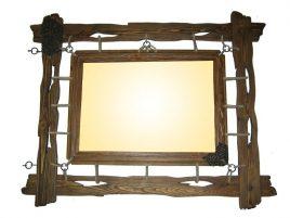 Зеркало под старину №1