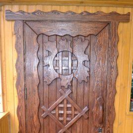Дверь под старину «Ульяна»