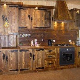 Кухня под старину #4