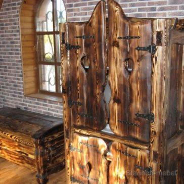 Шкаф под старину «Добрава»