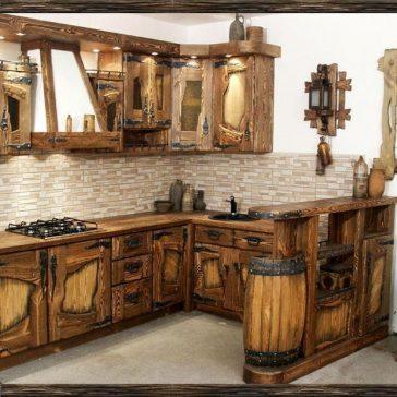 Кухня под старину #8