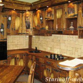 Кухни под старину не только роскошны, но и очаровательны!